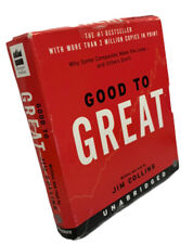 Good To Great Jim Collins Audio CD Set 8 CD's 10 Hours Unabridged