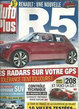AUTO PLUS N°1224 20/02/2012 NOUVELLE R5/ SUV/ COURTOISIE AU VOLANT/ GROSJEAN