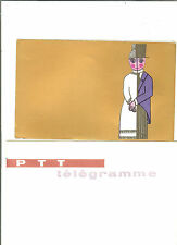TELEGRAMME FRANCE NEUF AVEC ENVELOPPE THEMES MARIAGE ANNEES 1960