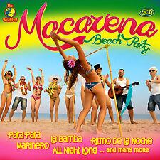 CD Macarena Beach Party von Various Artists   2CDs