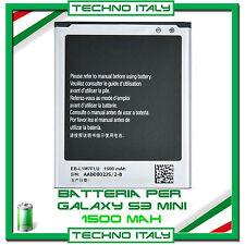 BATTERIA PER SAMSUNG PER i8190 GALAXY S3 Mini 1500mAh CAPACITA' ORIGINALE