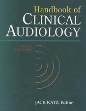 Handbook of Clinical Audiology, Katz, Jack, Good Condition Book, ISBN 9780683307