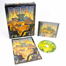 DOOM II for MS-DOS by id Software, Big Box, 1994, Sci-Fi, PC CD-ROM, CIB, VGC