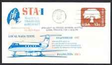 GULFSTREAM STA SPACE SHUTTLE TRAINING AIRCRAFT FLIGHT 7-14-1976 Space Cover
