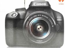 Canon EOS 4000D with EF-S 18-55mm f/3.5-5.6 III Lens New Open Box