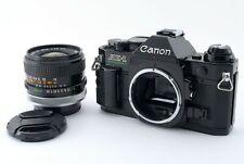 Canon AE-1 Program Black FD 28mm f/2.8 s.c Lens Japan [Exc] #213A 426