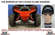 LIME SQUEEZE Axiom Side by side Polaris RZR 900 & S 1000 Rear Bumper
