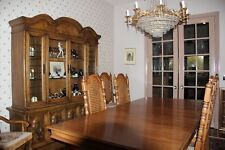 Traditional Wood Dining Room Set