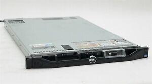 Dell PowerEdge R620 Server 2*Intel E5-2630 V2 6-Core 2.60GHz 32GB 2*300GB H310