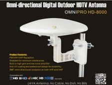 LAVA HD-8000 360 DEGREES HDTV DIGITAL AMPLIFIED OUTDOOR TV ANTENNA HD UHF/VHF