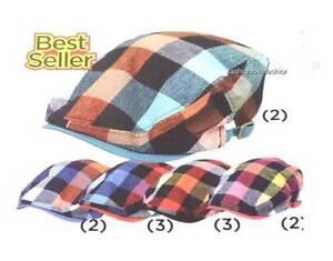 D&Y COTTON IVY NEWSBOY GOLF CABBIE SUN CAP HAT