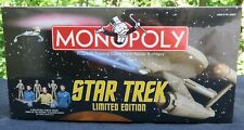 Star Trek Monopoly, Limited Ed, TOS, Parker Bro/Hasbro, 2000, Factory Sealed MIB