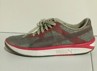 Puma GV 500 Woven Mesh Sneakers Casual    - Red/Gray- Men's Shoes