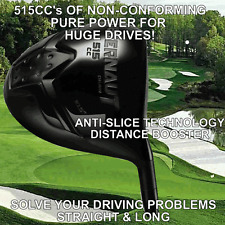 #1 SELLING ILLEGAL 515cc ANTI-SLICE NONCONFORMING TAYLOR FIT CUSTOM MADE DRIVER