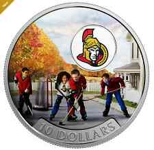 2017 Canadian Passion to Play: Ottawa Senators® 1/2 oz Silver Colored Coin