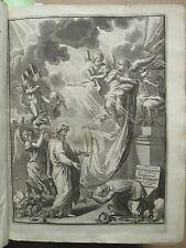 BIBLE PROTESTANTE : LE NOUVEAU TESTAMENT / PSEAUMES DE DAVID, 1731.