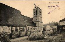 CPA   Eglise de Vauréal    (519375)