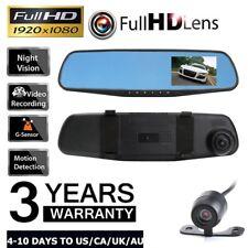 Car Dash Camera Dual Cam Vehicle Front Rear DVR Lens Video Recorder L600 HD