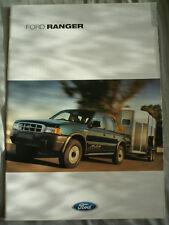 Ford Ranger brochure Dec 2001