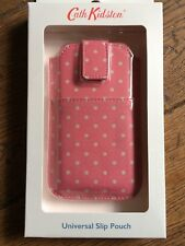 New Cath Kidston Universal Slip Pouch Phone Case Mini Dot Vintage Rose iPhone 5