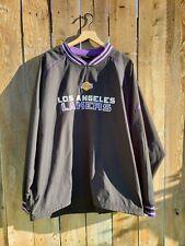 Adidas NBA VTG LA Los Angeles Lakers Men's Practice Pullover (XL) ULTRA RARE