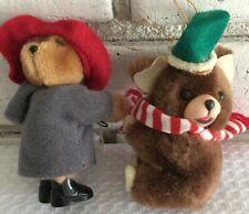 "Paddington Bear Christmas Tree Climber Crawler Hugger Clip On Hands 3 1/2"""
