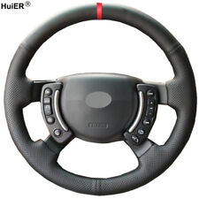 For Land Rover Range Rover 2005 - 2011 2012 Hand Sewing Car Steering Wheel Cover
