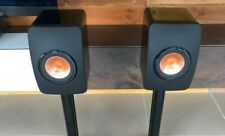 KEF LS50 Standmount Speakers - Gloss Black - RRP £800 - Fantastic Condition