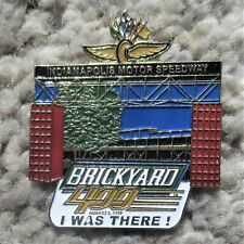 """BRICKYARD 400 Indianapolis Motor Speedway """"I WAS THERE"""" Pin - August 1, 1998"""