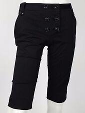 Anna molinari shorts neri pantalone corto bermuda hot sexy nuovo w26 tg 40 T1068