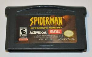 SPIDER-MAN: MYSTERIO'S MENACE NINTENDO GAMEBOY ADVANCE SP GBA