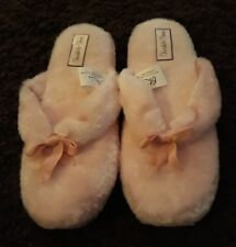 BHS British Home Stores Ladies Pink Flip Flop Slippers - Size Medium - BRAND NEW