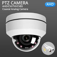 AHD 1080p PTZ Outdoor Speed Dome Pan Tilt 4X Zoom IR Analog Security Cameras 2MP