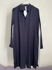 HANRO PYJAMAS NIGHT SHIRT NAVY SIZE S BNWT