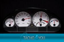 BMW Tachoscheibe Tacho E46 Benzin oder Diesel M3 WEIß 3068 Tachoscheiben WEISS