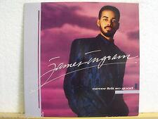 ★★ LP - JAMES INGRAM - Never Felt So Good - OIS (Lyrics) - QWest 925 424 // 1988