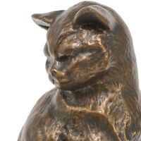 Cat by Emmanuel Fremiet, Sculpture, Art, Gift, Ornament.