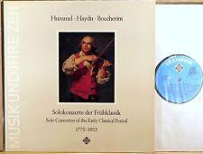 TELEFUNKEN Hummel Haydn Boccherini BYLSMA SCHRODER LEONARDT Concertos 6.41241