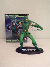 dc universe online green arrow statue