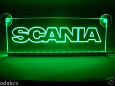 24V Green LED Interior Cabin Light Plate for SCANIA Truck Neon Table Sign Lamp