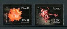Iceland 2016 MNH Seabed Ecosystem 2v S/A Set Sea Anemones Basket Star Stamps
