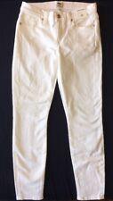 J Crew Jeans 26 09355 White Toothpick NEW Skinny Stretch $115