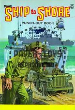 Vintage Reprint - 1960S - Ship To Shore Punch-Out Book - Reproduction