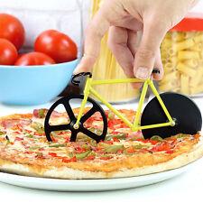 Fahrrad Pizzaschneider Pizzaroller Pizzamesser Pizzarad Pizzacutter Geschenk