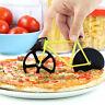 Fahrrad Pizzaschneider Pizzaroller Pizzamesser Pizzarad Pizzacutter Geschenk 1x