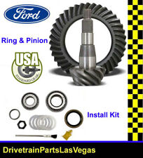 Ford 10.5 4.10 Ratio RIng Pinion Gear Set & Install Kit 1999 to 2008 Pkg USA Std