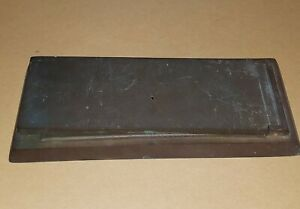 "Antique Bronze Mail Slot. AMERICAN DEVICE MFG. CO. 9-1/2"" x 4"". Screw Mount."