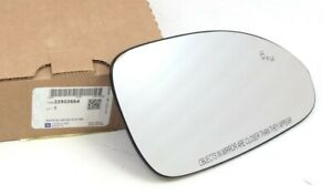 2013-2017 Buick Enclave Passenger Side View Mirror Glass Obstacle Heated UFT OEM