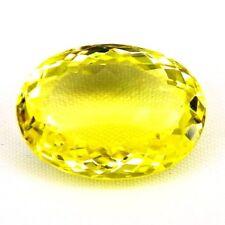 TOP LEMON CITRINE : 17,99 Ct Natürlicher Lemon Citrin aus Brasilien