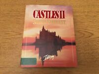 """Castles II 2 Siege Conquest Interplay IBM PC game 5.25"""" Discs- Perfect Condition"""